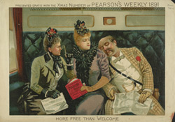 Advert For 'Pearson's Weakly', Periodical